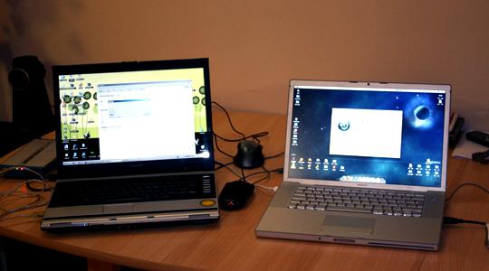 Подготовка за първа инсталаця на OS X върху PC.